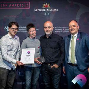 Une médaille d'argent aux Design Awards 2019