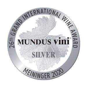Mundus Vini 2020 - médaille d'argent
